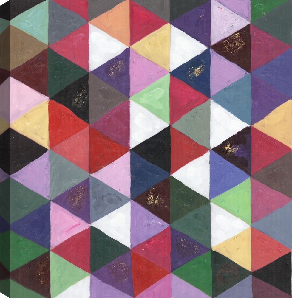 Abstract Color Splash, Abstract Art, Canvas Print Wall Art