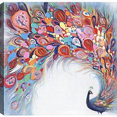 Beauté de paon, Art animalier, toile imprimer Wall Art