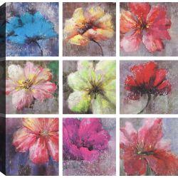 Flower Decoration, Floral Art, Canvas Print Wall Art