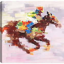Art Maison Canada Horse Rider, Animal Art, Canvas Print Wall Art