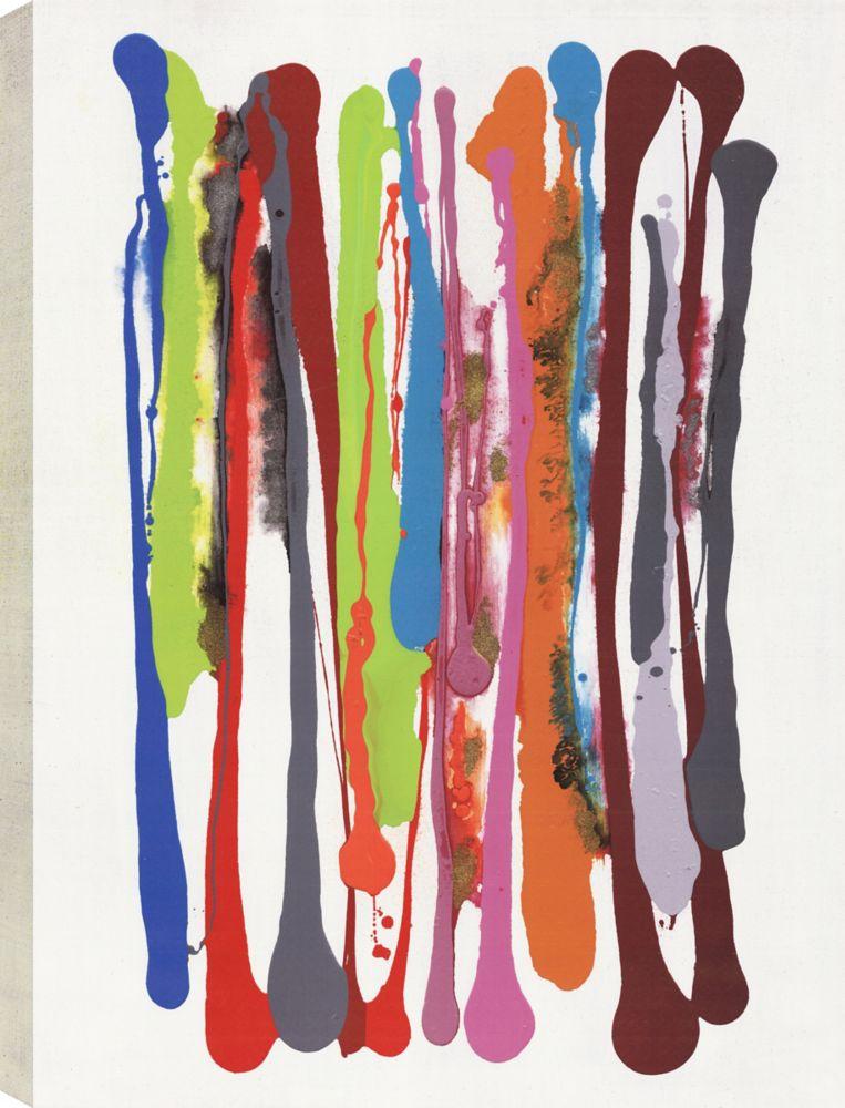 Layers III, Abstract Art, Canvas Print Wall Art
