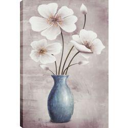 Art Maison Canada Flower Pot Décor I, Floral Art, Canvas Print Wall Art