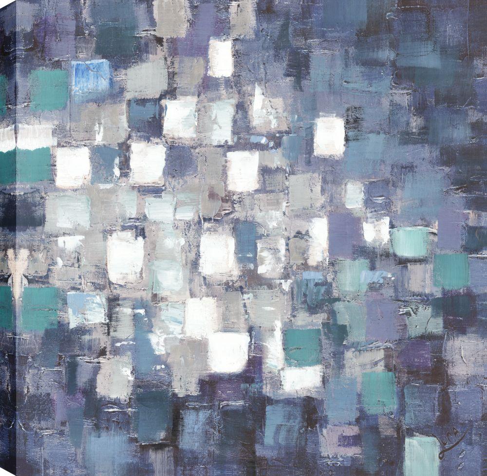 Spots I, Abstract Art, Canvas Print Wall Art