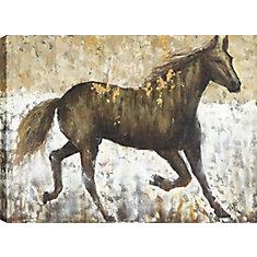 Art horsy, Animal, toile d'impression Wall Art