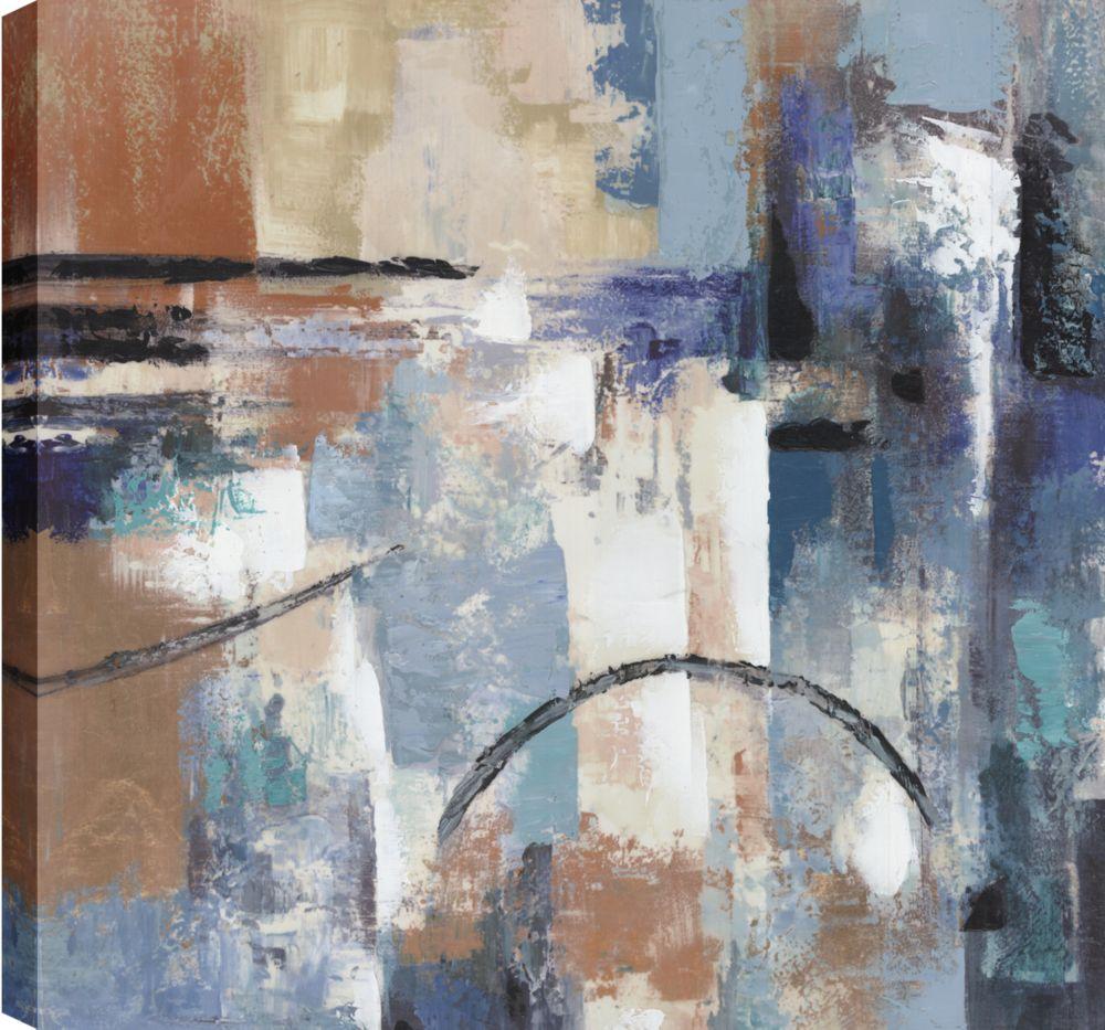 Layers VIII, Abstract Art, Canvas Print Wall Art