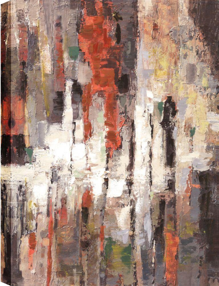 Art Maison Canada Layers Again, Abstract Art, Canvas Print Wall Art