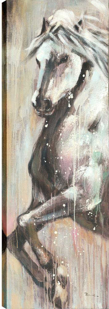 Art Maison Canada Beautiful Horse III, Animal Art, Canvas Print Wall Art