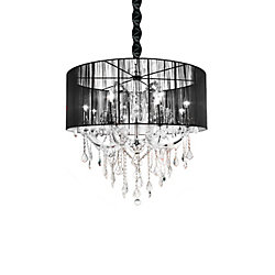 CWI Lighting Maria Theresa 34 inch 12 Light Chandelier with Chrome Finish