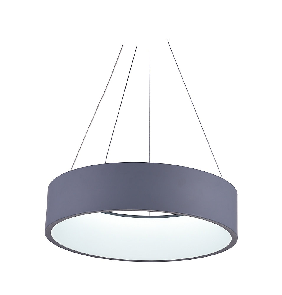 Arenal 18-inch Integrated LED Chandelier with Grey Finish