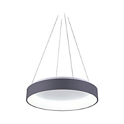 Arenal 24-inch LED Mini Chandelier with Gray Finish