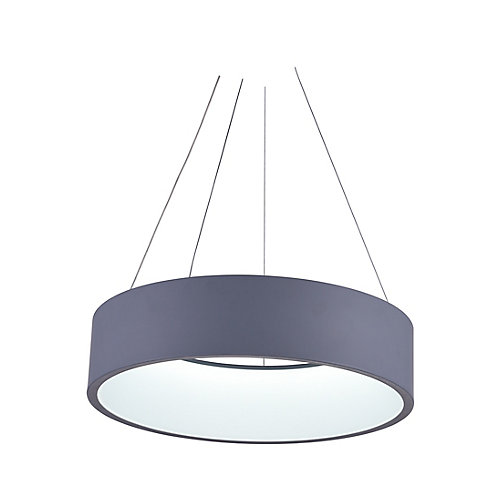 Arenal 24-inch LED Chandelier with Gray Finish