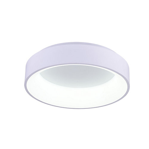 Arenal 18-inch LED Flush Mount with Gray Finish