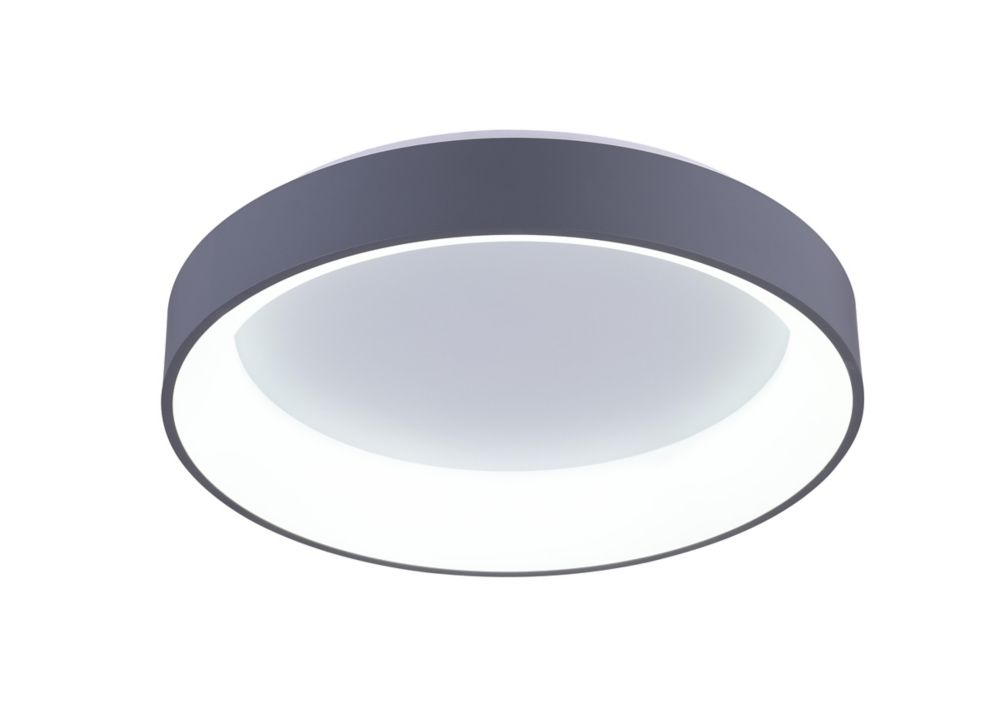 Arenal 18-inch LED Flush Mount with White Finish
