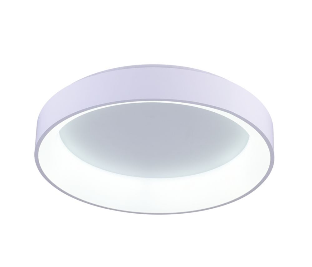 Arenal 24-inch LED Flush Mount with White Finish