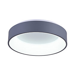 Arenal 24-inch LED Flush Mount with Gray Finish