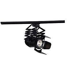 CWI Lighting Palco 10 inch LED Flush Mount with Black Finish