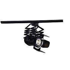 Palco 10 inch LED Flush Mount with Black Finish