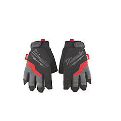 2X-Large Fingerless Work Gloves