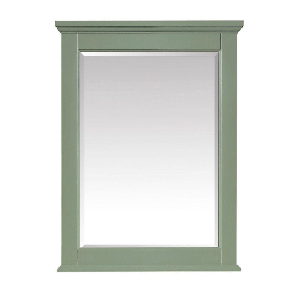 Avanity Colton 24 inch Mirror in Basil Green