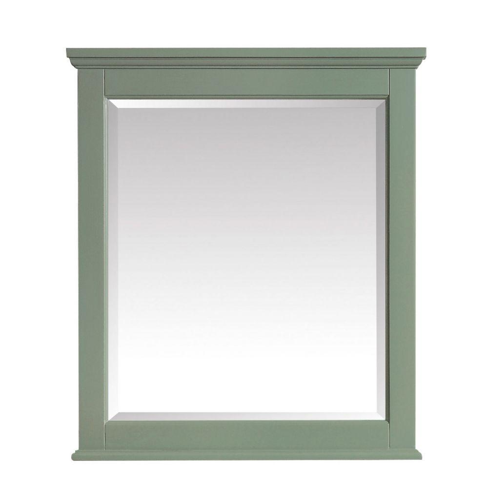 Avanity Colton 28 inch Mirror in Basil Green