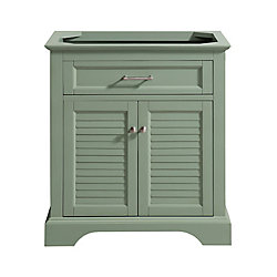Avanity Colton 30 inch Vanity Only in Basil Green