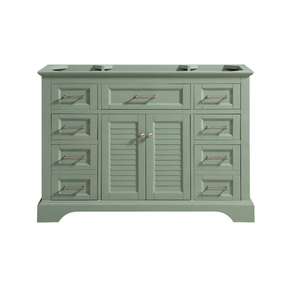 Avanity Colton 48 inch Vanity Only in Basil Green