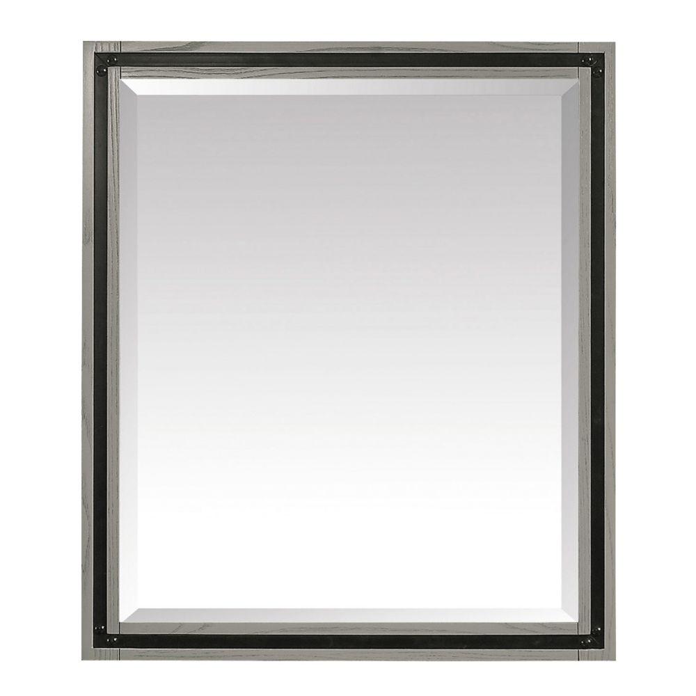Avanity Dexter 30 inch Mirror in Rustic Gray