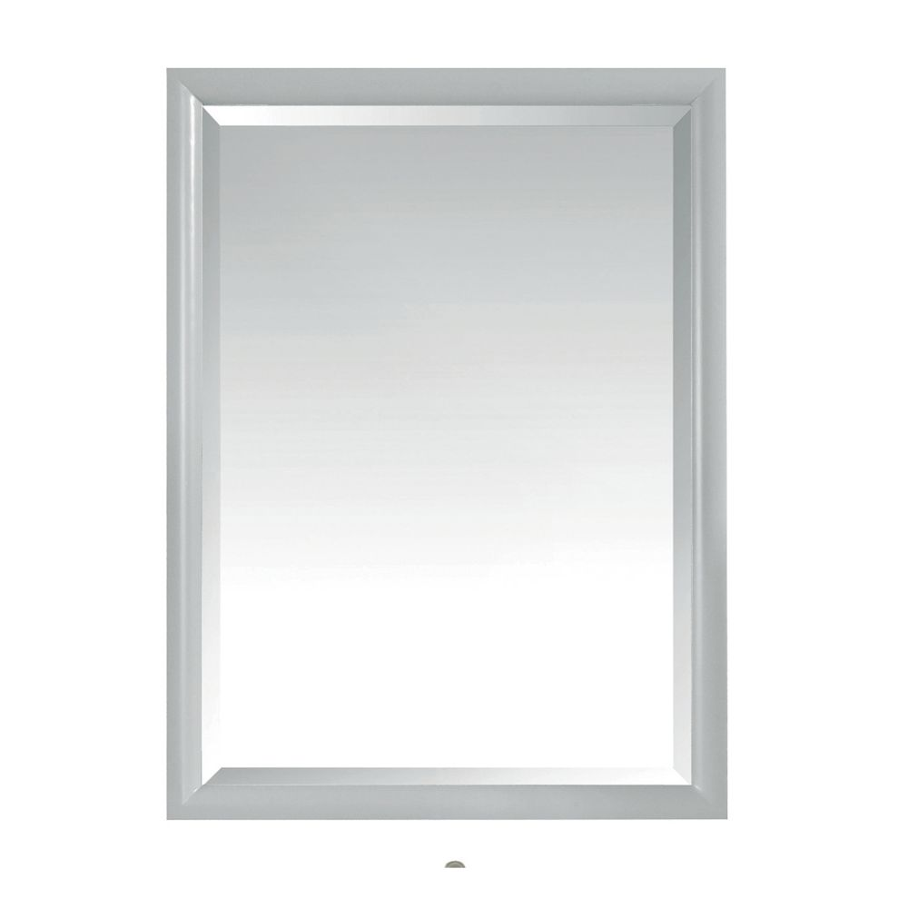 Avanity Emma 24 inch Mirror in Dove Gray