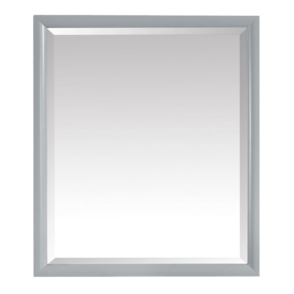 Avanity Emma 28 inch Mirror in Dove Gray