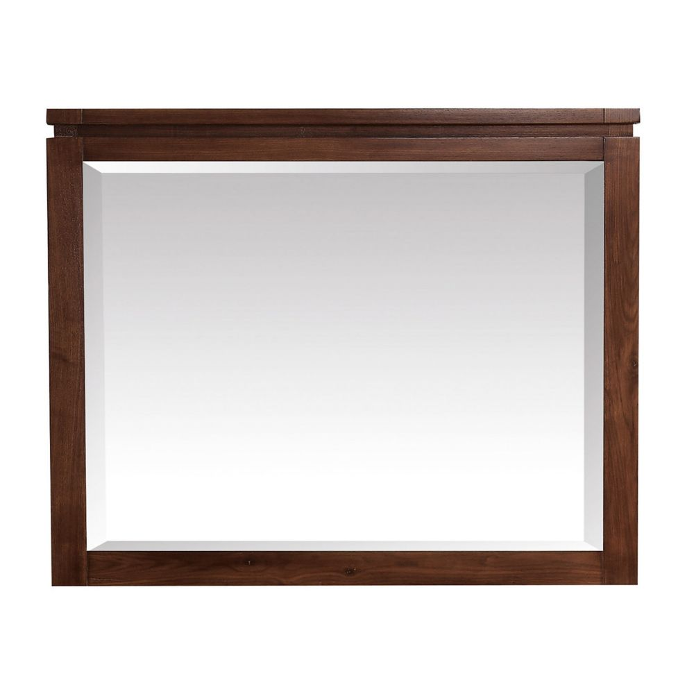 Avanity Giselle 38 inch Mirror in Natural Walnut