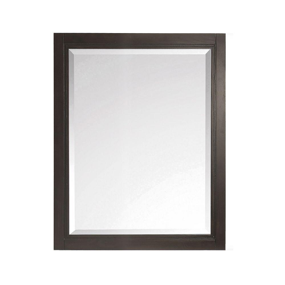 Avanity Hepburn 24 inch Mirror in Dark Chocolate