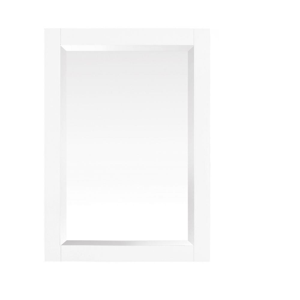 Azzuri Azzuri Riley 24 inch Mirror in White