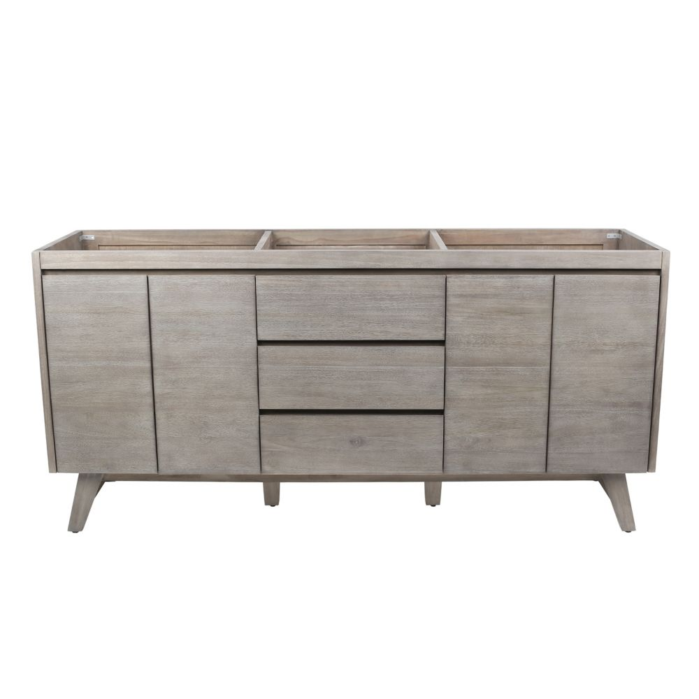Avanity Coventry 72 inch Vanity Only in Gray Teak