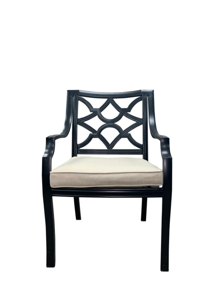 ONSIGHT Delilah Patio Dining Chair with Cushion