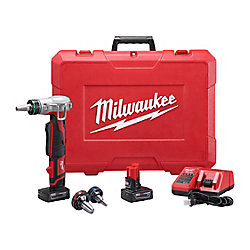 Milwaukee Tool M12 12V Lithium-Ion Cordless ProPEX Expansion Tool Kit