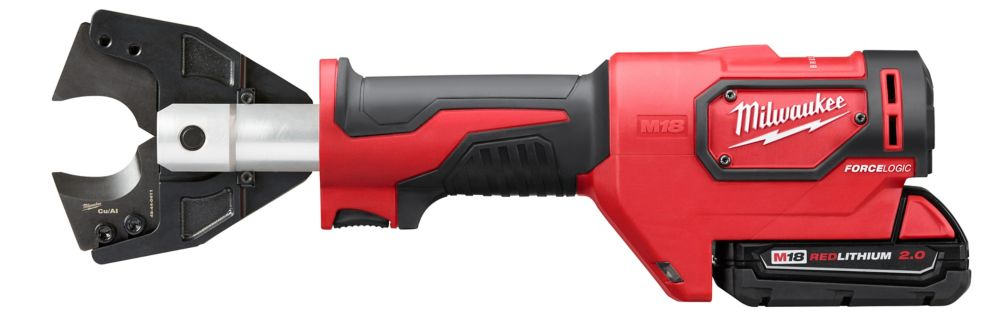 Milwaukee Tool M18 18-Volt Lithium-Ion Cordless Cable Cutter CY/AL Jaws