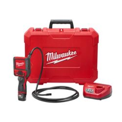 Milwaukee Tool Ens. caméra d'inspection M12, M-SPECTOR FLEX, sans fil, au Li-ion, 12 V, avec câble de 9 po
