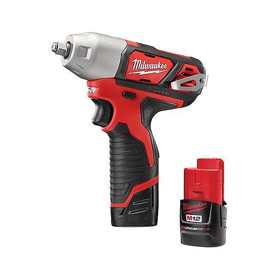 Milwaukee Tool M12 12V Lithium-Ion 3/8-Inch Cordless Impact Wrench Kit