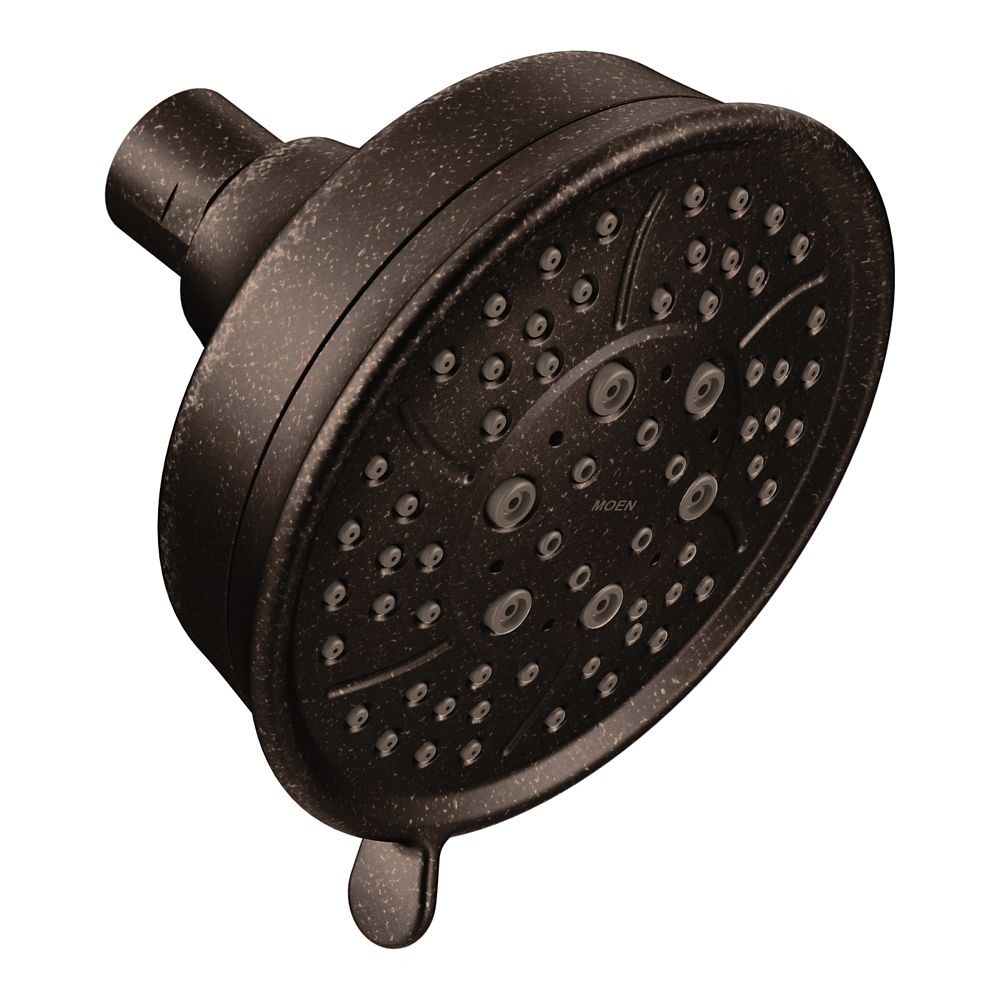 Moen Four-Function 4-3/8-inch Diameter Spray Head Standard in Oil Rubbed Bronze