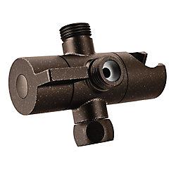 MOEN Shower Arm Diverter, Oil Rubbed Bronze