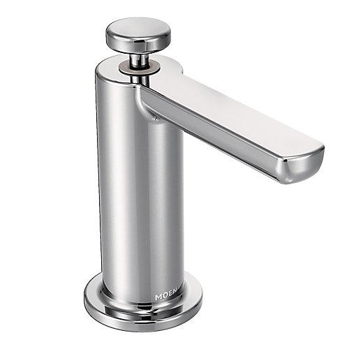 Distributeur de savon moderne en chrome
