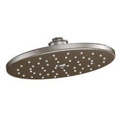 MOEN Waterhill 1-Spray 10 -inch Rainshower Showerhead Featuring Immersion In Oil Rubbed Bronze