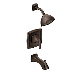 Voss Posi-Temp 1-Handle Tub and Shower Trim Kit in Oil Rubbed Bronze (Valve Sold Separately)