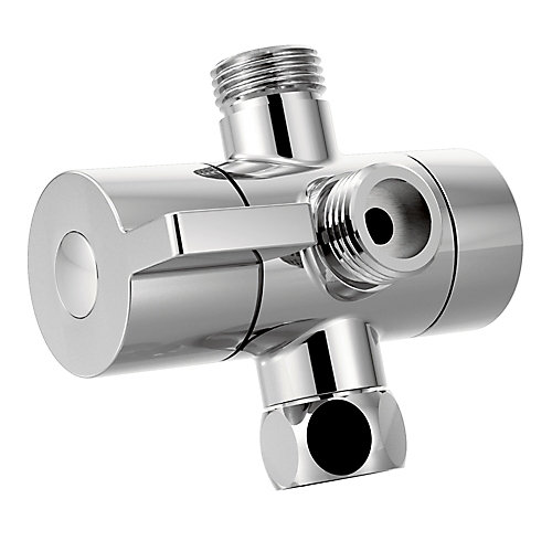Chrome Shower Arm Diverter