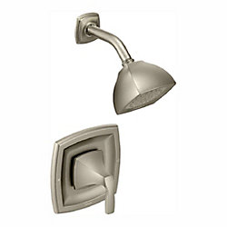 Voss Posi-Temp Single-Handle Tub and Shower Trim Kit in Brushed Nickel (Valve Sold Separately)