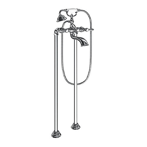 Weymouth Two-Handle Tub Filler Includes Hand Shower in Chrome(Valve Sold Separately)