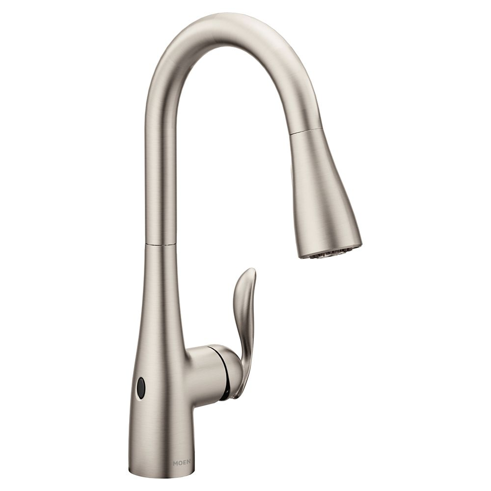 Moen Arbor Spot Resist Stainless One-Handle High Arc Pulldown Kitchen Faucet