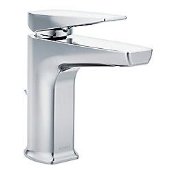 MOEN Via Chrome One-Handle Low Arc Bathroom Faucet