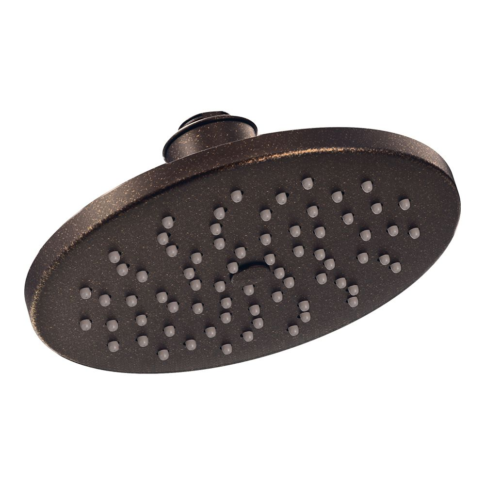 Moen 1-Spray 8-inch Rainshower Showerhead Featuring Immersion In Oil Rubbed Bronze