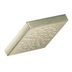 MOEN 90 ° Brushed Nickel One-Function 6-inch Diameter Spray Head Rainshower